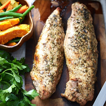 This easy oven-baked pork tenderloin is very simple to prepare and makes tender, succulent and flavorful meat. Takes only 25 minutes to cook.