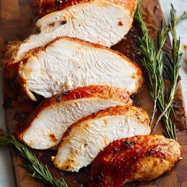 Roasted Marinated Turkey Breast
