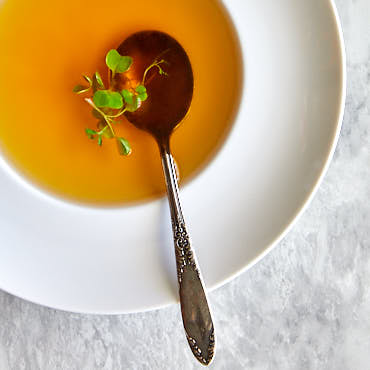 Beef Consomme (Consommé) | ifoodblogger.com