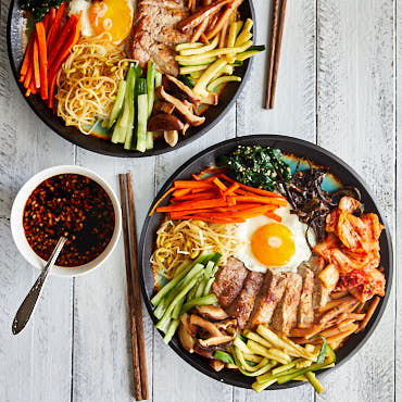 Bibimbap With Homemade Bibimbap Sauce Craving Tasty