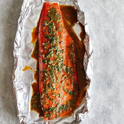 Steelhead Trout Sauce Marinade