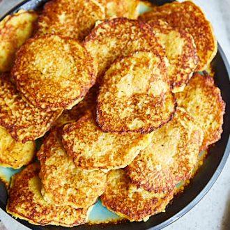 Grandma's Polish Potato Pancakes | ifoodblogger.com