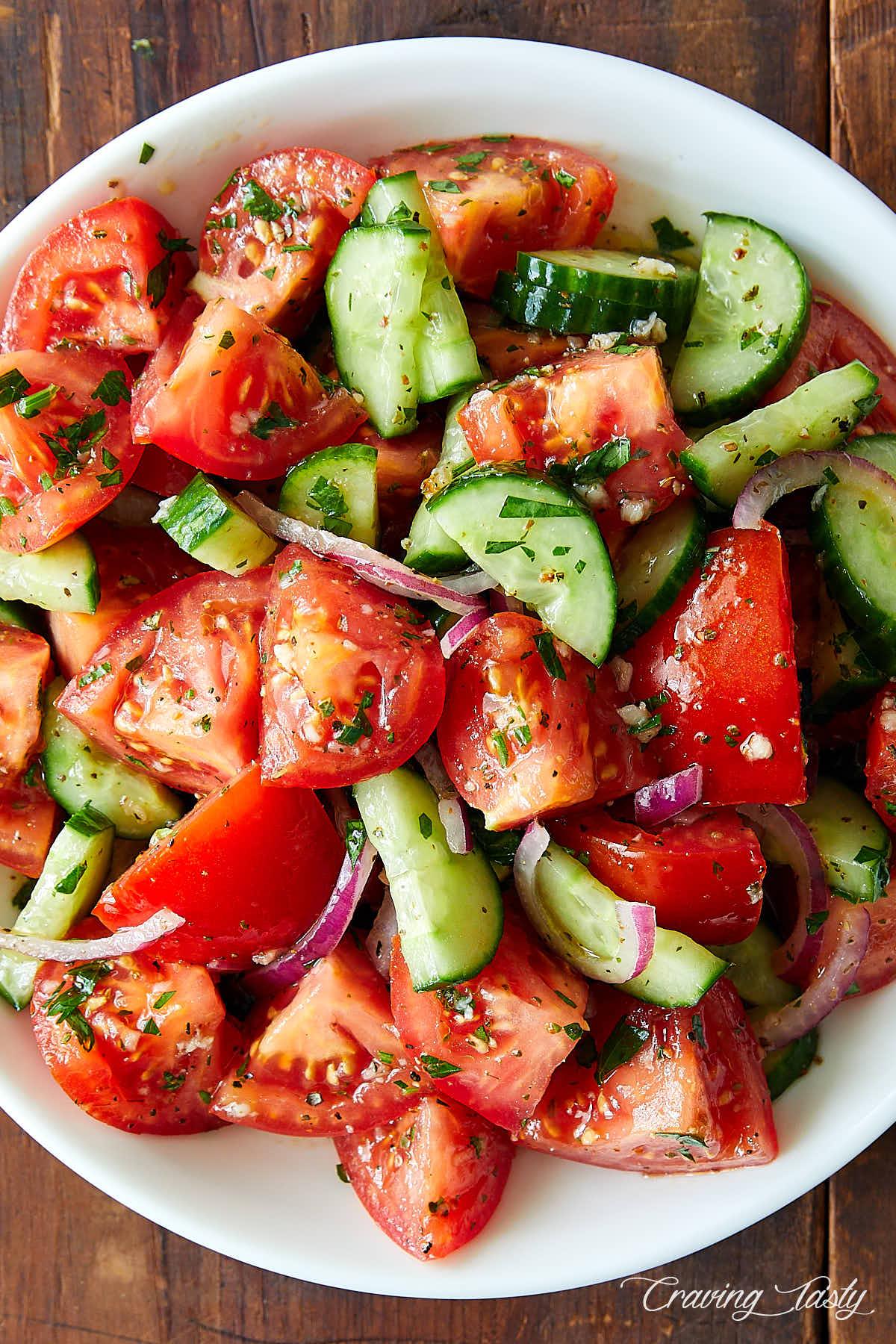 Cucumber Salad Recipe Italian