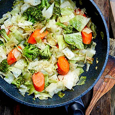 Mixed Vegetable Stir Fry | ifoodblogger.com