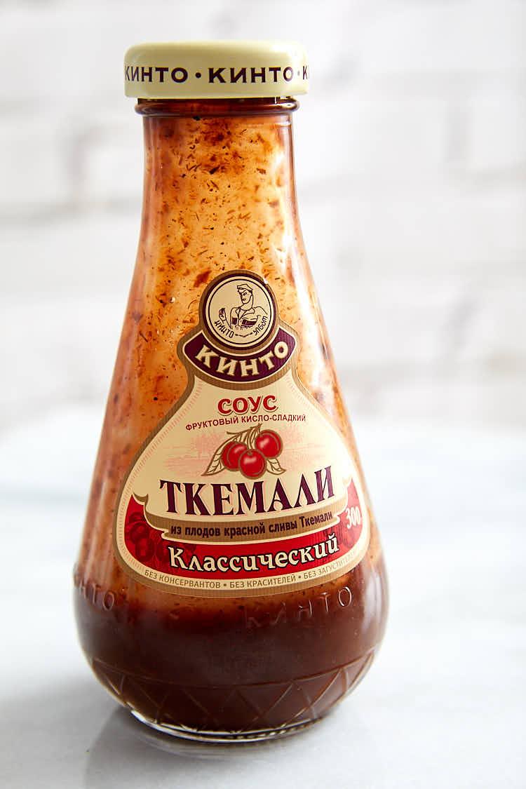 Beef Soup Kharcho plum sauce.