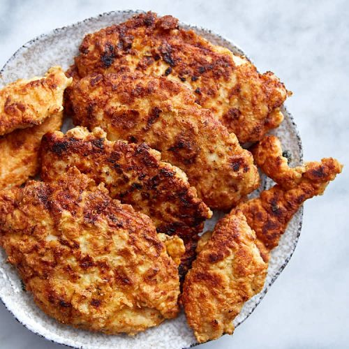 Fried Chicken Breast Super Tender Craving Tasty