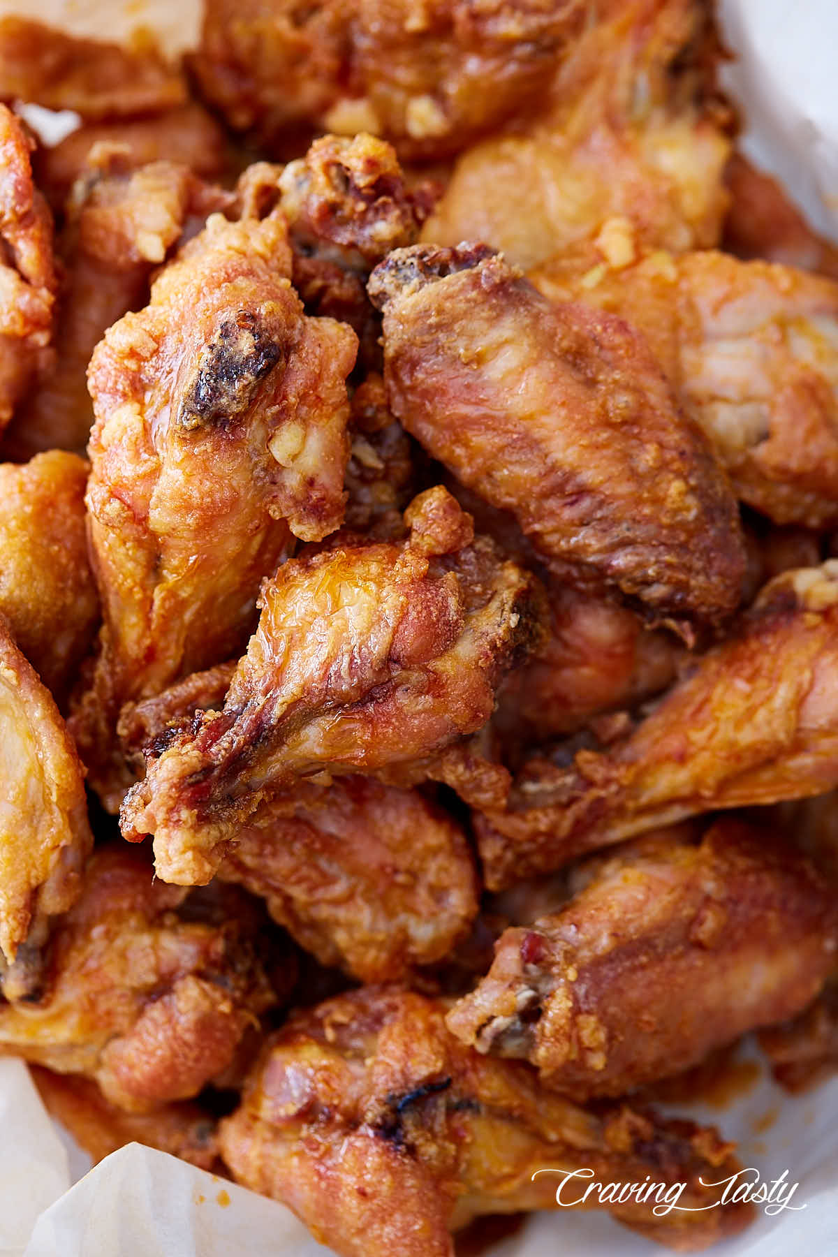Extra Crispy Baked Chicken Wings Craving Tasty