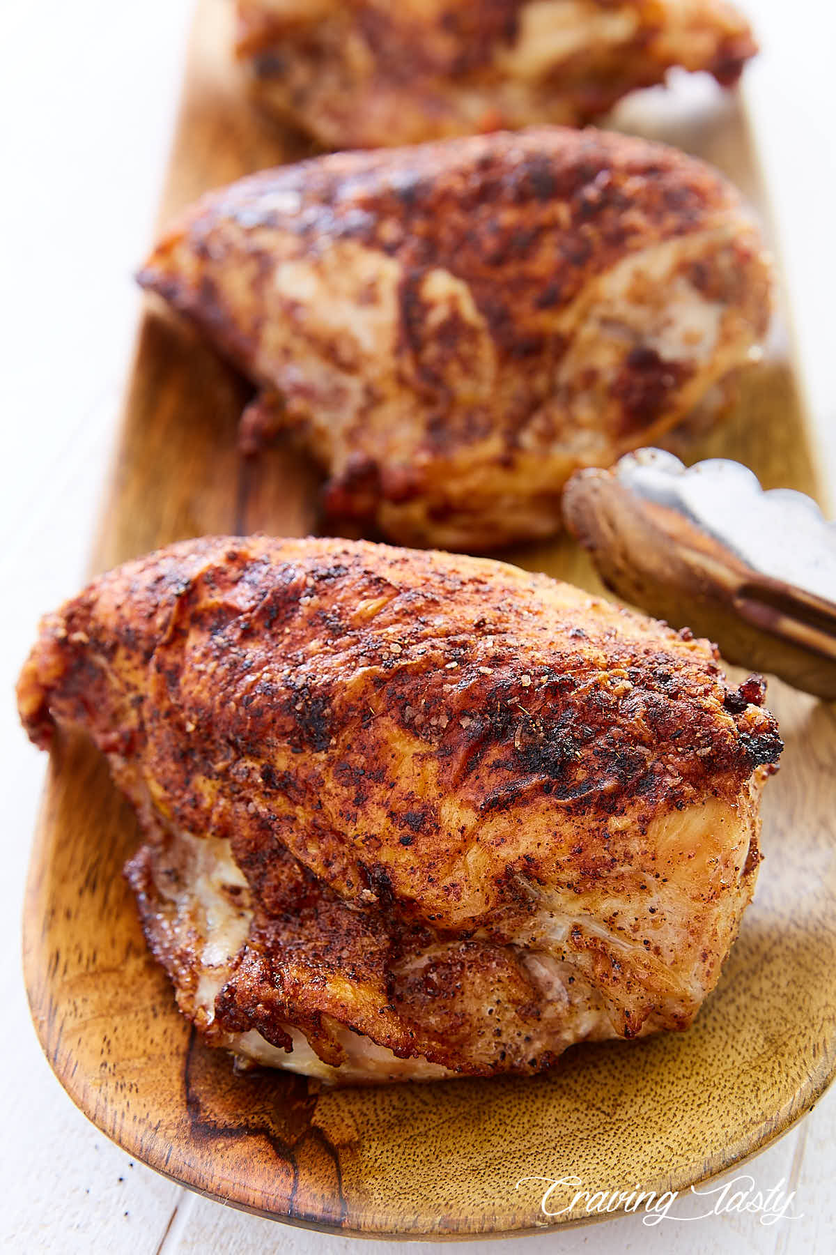 Crispy Oven Roasted Chicken Breast Craving Tasty