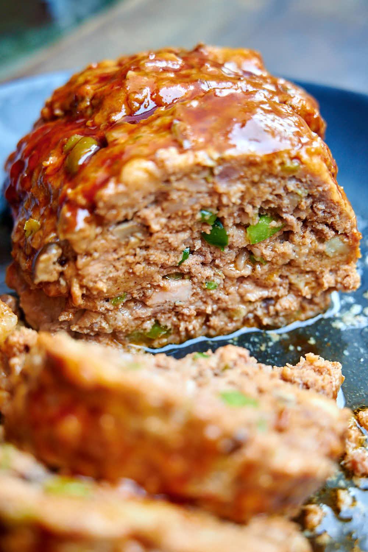 Juicy, moist instant pot meatloaf