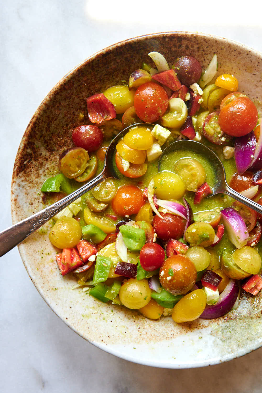 Cherry Tomato Salad